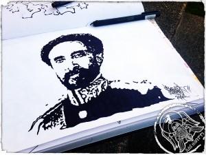 Selassie sketch